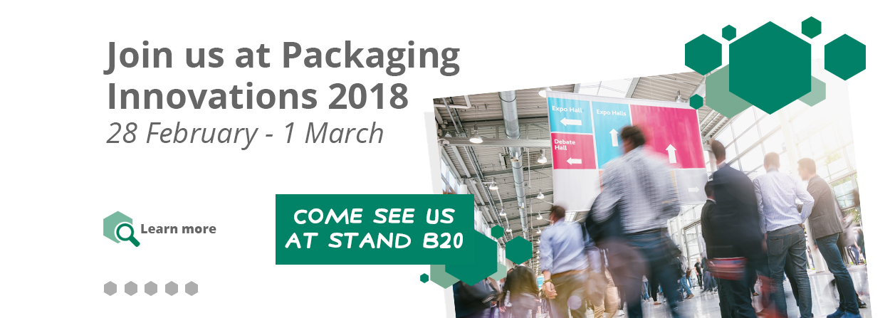 Join Glossop Cartons at Packaging Innovation 2018