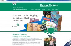 Glossop Cartons website